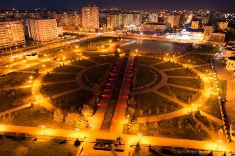 Мемориальный комплекс Красная горка. Евпатория
