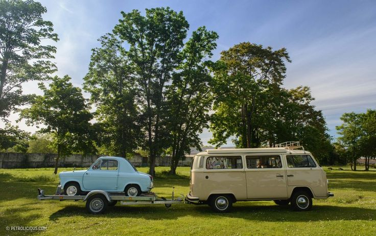 Exploring The French Countryside On The Vespa 400 Microcar's 60th Birthday • Petrolicious