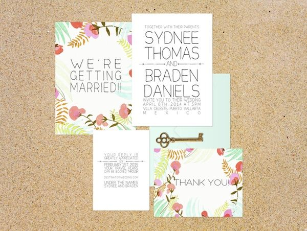 17 Best Images About Eco Friendly Wedding Invitations On Pinterest Wedding