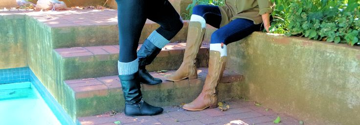 #bootcuffs will give last year's boots new life this year. Now in South-Africa exclusively at Mademois-elle.co.za