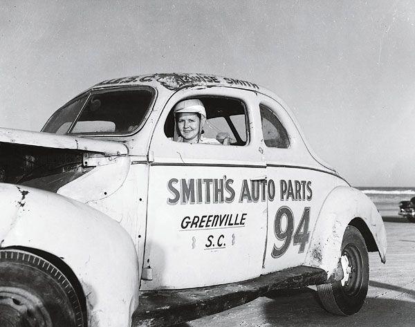 Vintage Race Car Driver