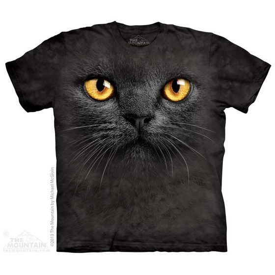 Polera The Mountain Gato Negro