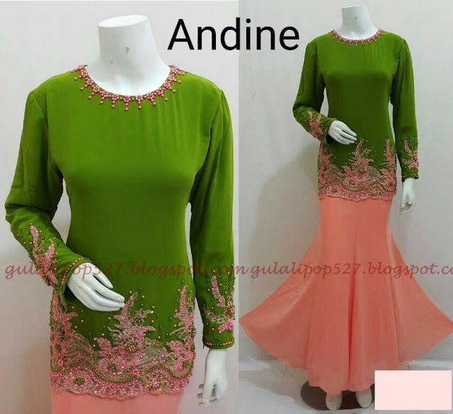 Gulali Pop Collection (d'MOzT): KURUNG ANDINE