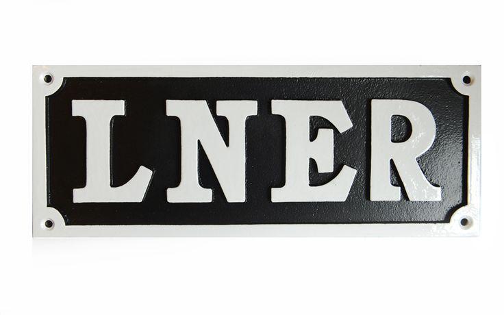 LNER railway sign