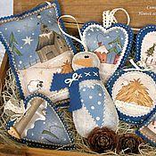 Купить или заказать Набор елочных игрушек из фетра и ткани 'Новогодние игрушки' в интернет-магазине на Ярмарке Мастеров. Сделаю на заказ, по мотивам. Праздничный набор елочных игрушек из фетра и ткани 'Новогодние игрушки'. Для пошива использован фетр (Италия panno), хлопок; подвес-петелька декоративная лента. Набор включает 4 игрушки: медальон, сердечко, елочку и звезду. Стоимость набора (из 4 шт.) - 680 руб. (по 170 руб. игрушка). Акция до 23 октября! Можно приобрести и 1 игрушку, тогда…
