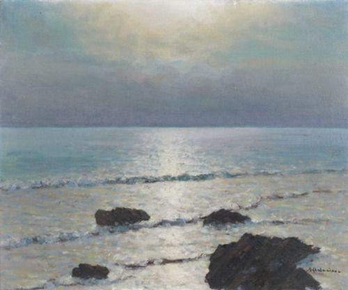 Arsène Chabanian (1864-1949) Bord de mer, N/D
