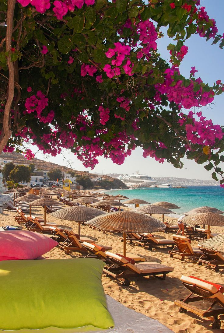 Relaxing at the beach, under the sun!! Can't wait for summer! <3 Syros , Greece