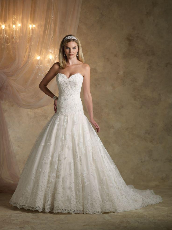 Kathy Ireland For Mon Cheri Wedding Dresses Style Ki1313 Majestic Garden