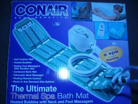 Amazon Com Conair Deluxe Thermal Spa Bath Mat With