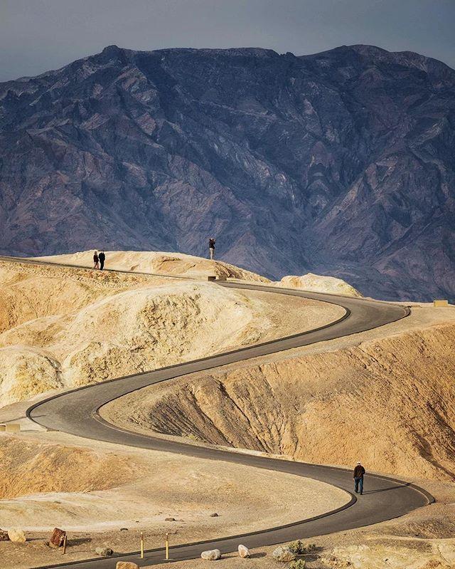 Zabriskie Point - Death Valley National Park by Jonathon Irish @deathvalleynps