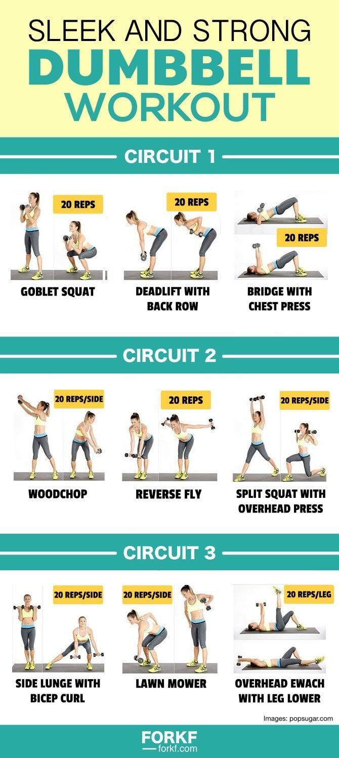 Weight Loss Plan - Dumbbell Workout