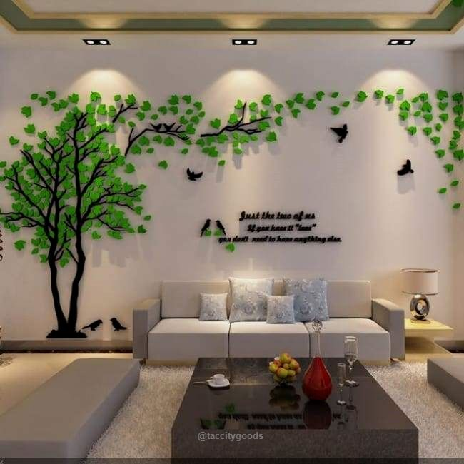 Large Tree Wall Sticker Decal Size, Wall Decals For Living Room