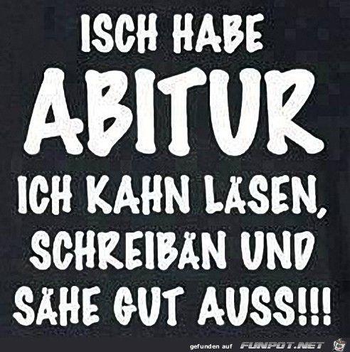 ...: Abitur...☺☺☺