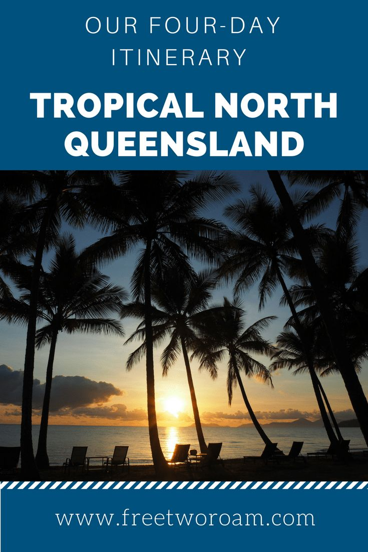Tropical North Queensland is one of the most popular destination in Australia. If you only have four days to spend in this tropical paradise, here is a great itinerary including the best things to do in the area.