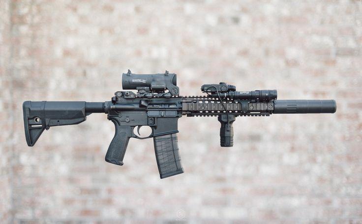 "Daniel Defense MK18 + AAC M4-2000 #Fight The Noise """