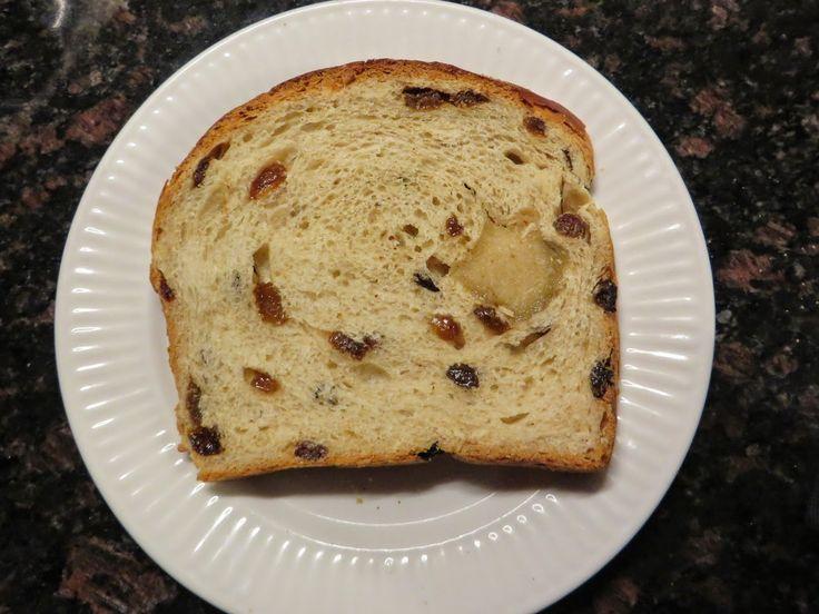 Anita's potjes en pannen: Rozijnenbrood met spijs (spelt)