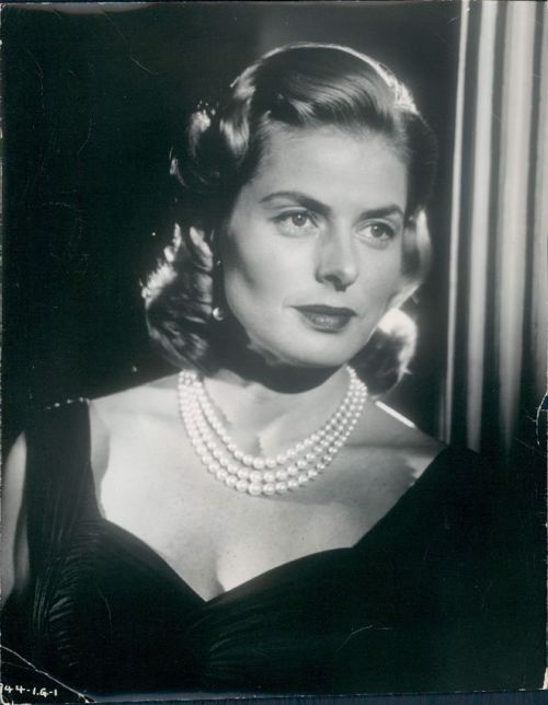 """Allthroughthenightb: """"Ingrid Bergman.  """""""