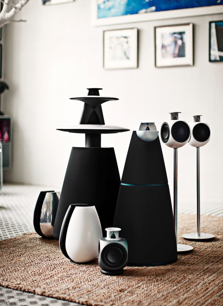 Beolab 20, Beolab 11, Beolab 5 and Beolab 3.