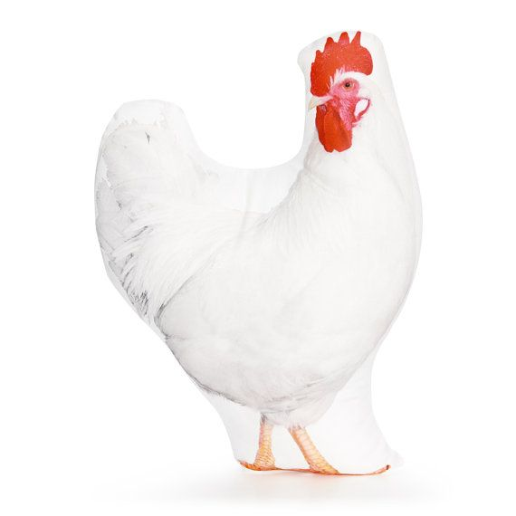 Chicken Chicken Pillow Chicken Cushion Farm Pillow Farm