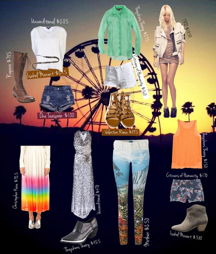 Coachella inspired looks of life*
