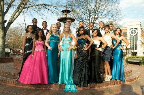 group shot. Lose the awkward prom pose though | Strike a ...