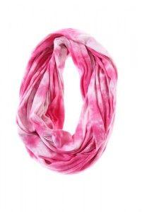 S16P, pink tube scarves