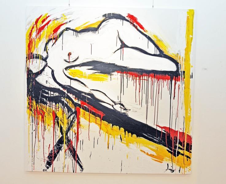 """Opera esposta alla mostra """"Artisti in_Galleria"""""""
