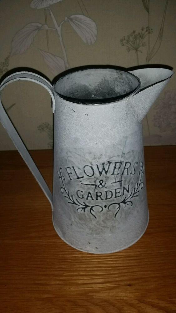 Flowers garden jug