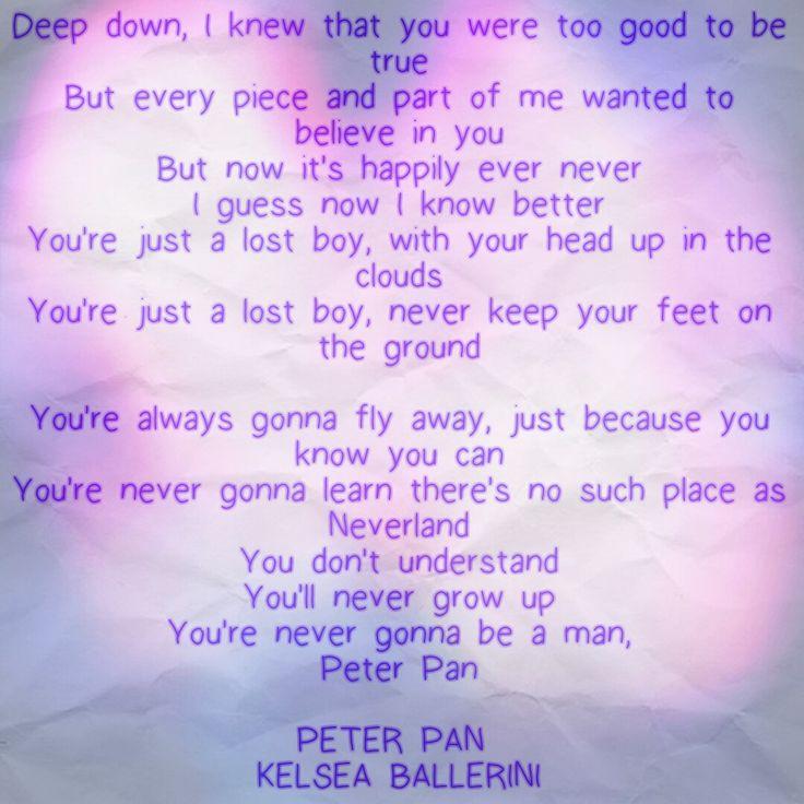 Kelsea Ballerini Peter Pan