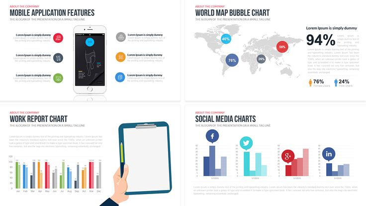 38 best Free Powerpoint \ Keynote Templates images on Pinterest - free company profile template word