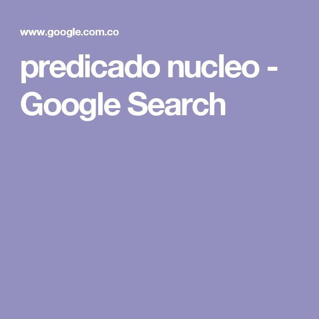 predicado nucleo - Google Search