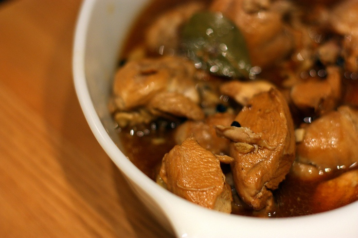 Filipino Chicken Adobo | Filipino recipes | Pinterest