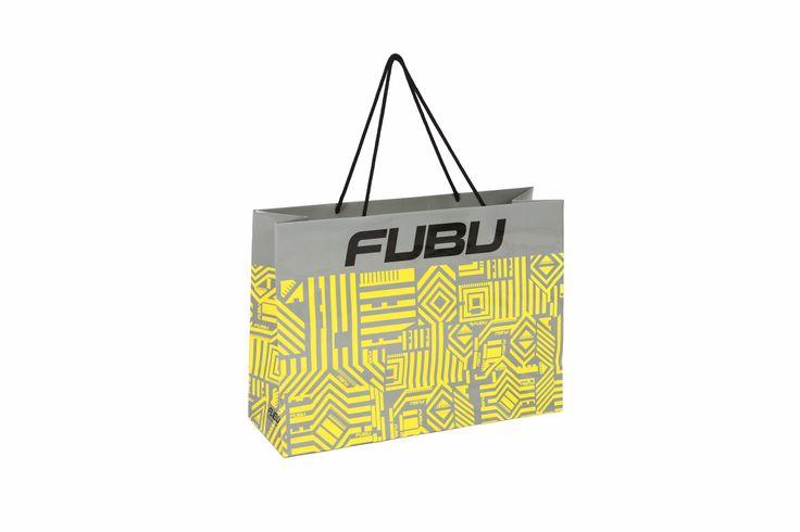 Hip-Hap Culture Brand FUBU Baika 210g(Baika is china paper) four printing / glossy lamination