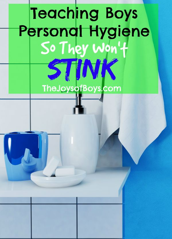 Boys can smell yucky sometimes, can't they? Keep them smelling good and less stinky by teaching your boys the personal hygiene skills they'll need in life!