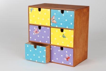 holz box mit schubladen von geschenke werkstatt auf serviettentechnik pinterest. Black Bedroom Furniture Sets. Home Design Ideas