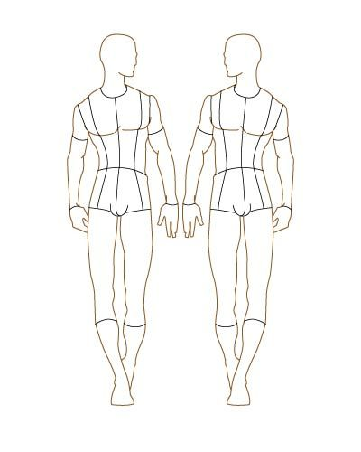 1000 Images About Figure Drawing For Fashion On Pinterest Croquis Fashion Figures And Male