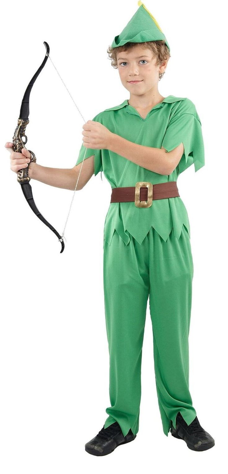 Peter Pan Costume | Kids Book Week Costumes | Party Supplies and Decorations