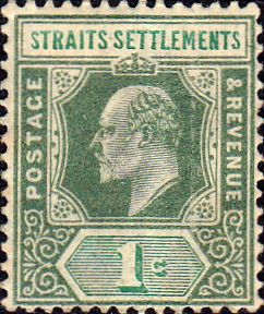 Straits Settlements 1902 King Edward VII SG 110 Fine Fine Used Scott 93 Other Malay Straits Stamps HERE