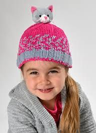 DMC Top This Yarn Kitten Hat