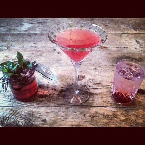 elderberry shrub cocktail