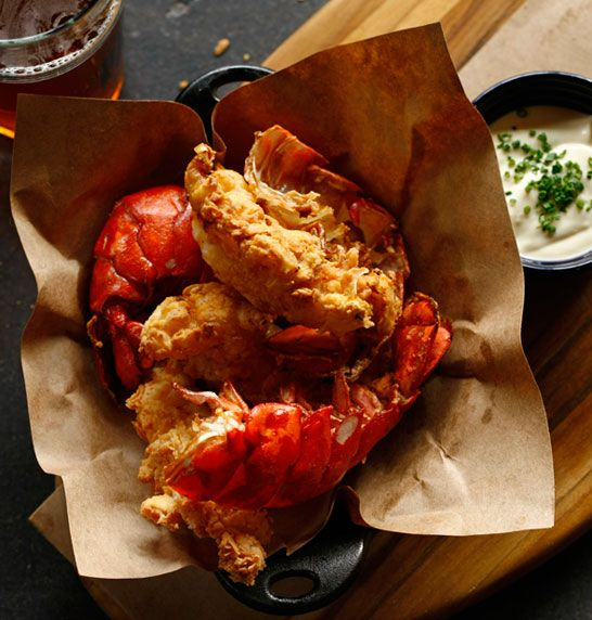 """Home Image. You have got to go to """"Route 6"""" restaurant in philly, the fried lobster is to die for. Soooo good if you love seafood! 2 thumbs up"""