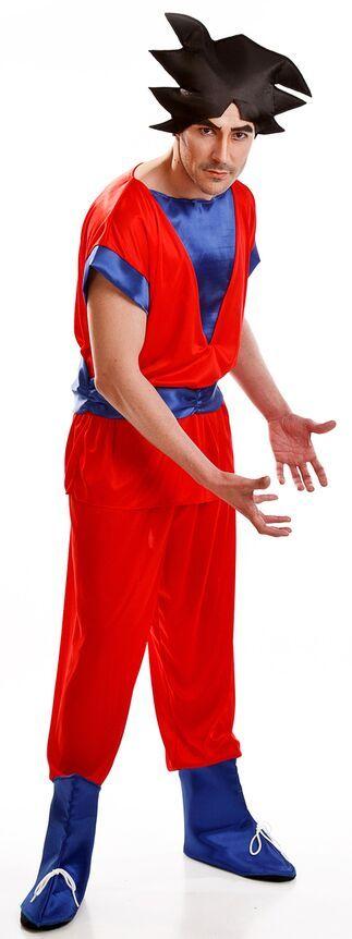 DisfracesMimo, disfraz guerrero goku hombre adulto.Con el disfraz de Guerrero Espacial Goku para adulto serás un duro enemigo para enfrentarte a Vegeta.Este disfraz es ideal para tus fiestas temáticas de disfraces cuentos populares,famosos y musicos para hombre adultos.