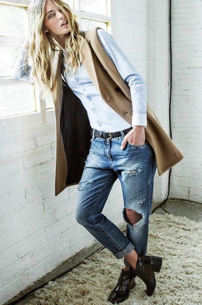 Tendance top de 2016 - le manteau sans manche! 80 idées comment l'adopter?