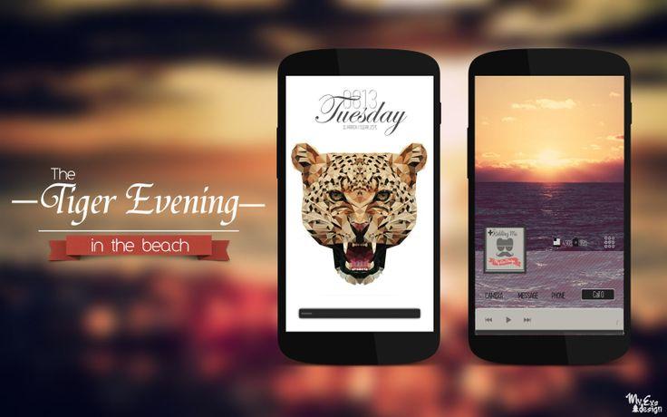 The Tiger Evening by xsun9.deviantart.com on @deviantART