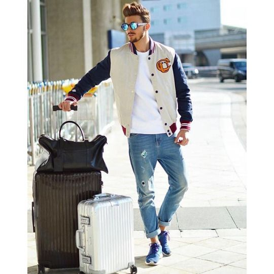 Travel-Man. Men's style