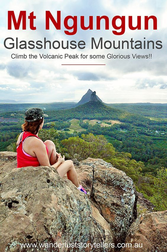 One of our favourite climbs and lookouts on the Sunshine Coast, Queensland, Australia!  The Mt Ngungun climb is suitable for adults or families with children and is a must whilst visiting the Glasshouse Mountain region.  Read more and view the video on wanderluststorytellers.com.au