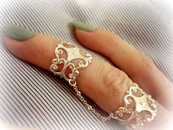Best 25+ Chain rings ideas only on Pinterest | Jewelry rings ...