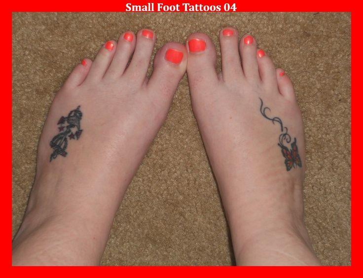 Small Foot Tattoos 04