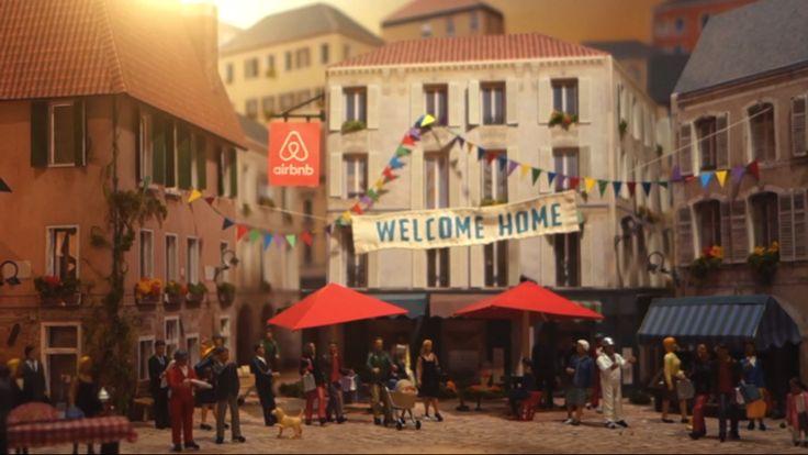 Le nouveau spot d'Airbnb est une invitation à l'onirisme, au sein d'un décor pourtant bien réel. Ce monde miniature a été entièrement réalisé à la main, par le studio d'animation néo-zélandais Cirkus.