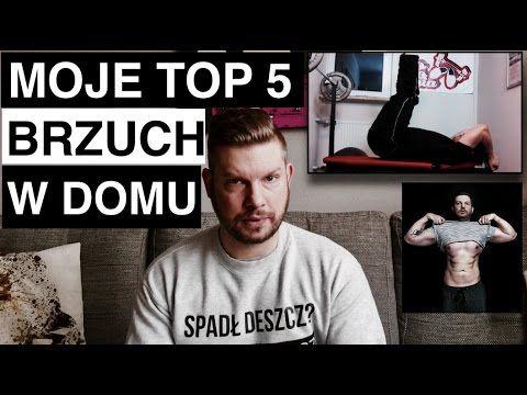 Moje TOP 5 Ćwiczeń na brzuch w domu - bez sprzętu! - YouTube